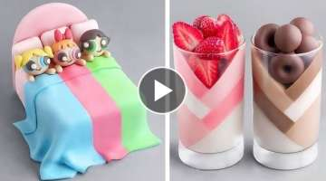 Creative Chocolate Cake Decorating Ideas | Yummy Chocolate Cake Recipe Tutorial