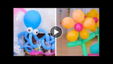 14 DIY Decoration Tips Using Bunch O Balloons Party Balloons! | Fun & Festive Party Decor by Blos...