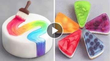 Happy Day With Tasty Cake Recipe | So Yummy Cake Decorating Ideas | Perfect Cake Decorating