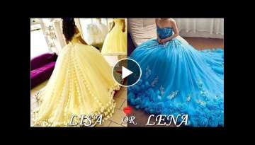 Quinceañera & Prom & Wedding Dresses - LISA OR LENA???? Pinkazina