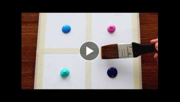 4 Type Of Drawing Clouds|Easy & Simple Acrylic Painting Step by Step For Beginners #243|Satis...