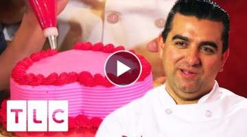 The Best Way To A Woman's Heart, Is To Bake Your Way Into It | Cake Boss