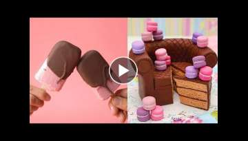 How To Make Perfect Chocolate Cake For Your Family | So Yummy Cake Recipes | Easy cake