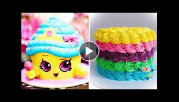 How To Make Perfect Cake For Your Family | So Yummy Cake Decorating Ideas