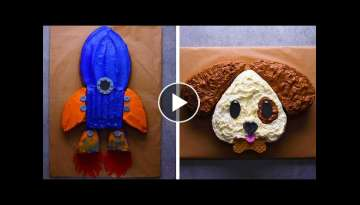 10 Crazy Clever Sheet Cake Hacks! | Cake Decorating and Hacks by So Yummy