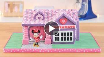 Minnie Mouse's House Cake - Tan Dulce