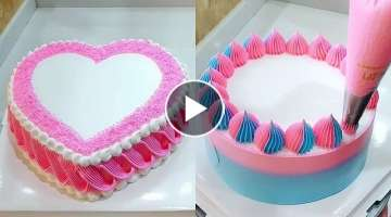 Easy & Quick Cake Decorating for Holidays | Best Chocolate Cake Ideas | Perfect Cake Decorating