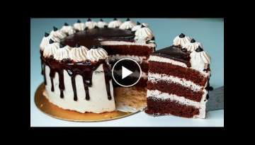 Chocolate Mocha Cake | Eggless & Without Oven | Eggless Coffee Cake Recipe | Yummy Cake Recipe
