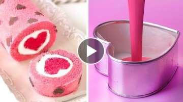How To Make Cake Decorating Ideas for Valentine's Day | Most Beautiful Cake Decorating Tutorials