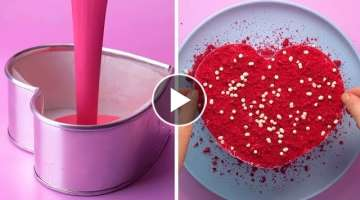 So Yummy Heart Cakes | Top 10 Yummy Cake Recipe Ideas | How To Make Cake Decorating Tutorial