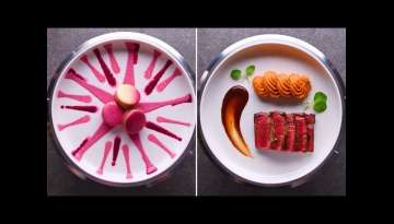 Plate like a pro with these quick and easy dinner party plating tricks | Food Hacks by So Yummy