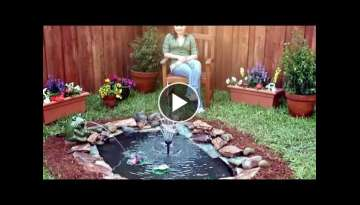 How to Build a Small Pond