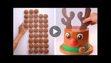 How To Make Cake Decorating Ideas | So Yummy Cake Recipe | Tasty Plus Cake Tutorial for Holiday