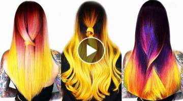 AMAZING TRENDING HAIRSTYLES ???? Hair Transformation | Hairstyle ideas for girls #35