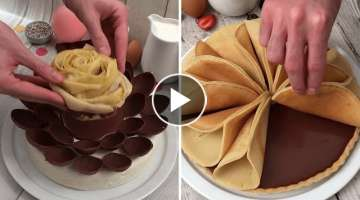 Crazy for Choco-Desserts ???? Chocolate Bread ???? Chocolate Mousse Cake ???? DIY Chocolate Bars...