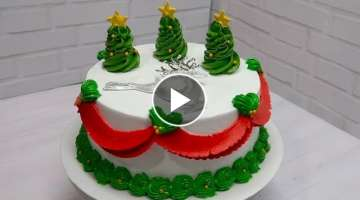 Christmas Cake Decorating Ideas ???????????? Decoración de pasteles para Navidad