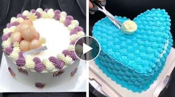 Most Satisfying Cake Decorating for Everybody | How to Make Chocolate Cake Recipes | So Yummy Cak...