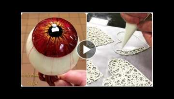 So Yummy! Amazing sweets from the chefs!???? Оddly satisfying cake videos! Amazing Cake Art Deco...