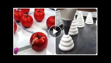 So Yummy! Оddly satisfying cake videos ???? Amazing Cake Art Decorating Compilation! Tasty desse...