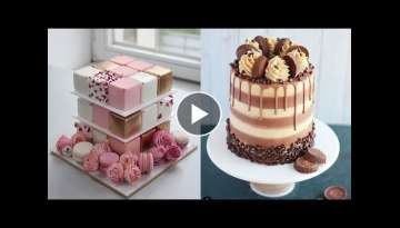 Amazing Cakes Decorating Ideas 2018 - cake step by step - Most Satisfying Cake Tutorials Compilat...