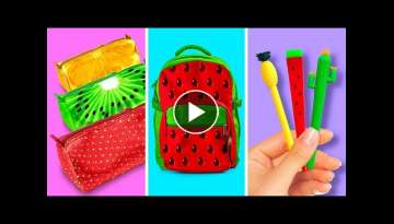 36 JUICY SCHOOL DIYS AND CRAFTS