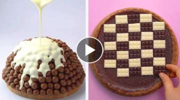 How to Make Chocolate Cake Decorating Ideas for Weekend | So Yummy Cake Tutorial | Tasty Plus