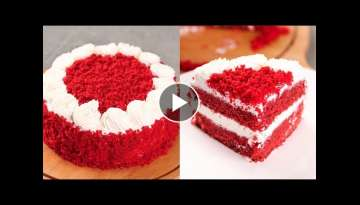 EGGLESS RED VELVET CAKE | VALENTINE 2020 SPECIAL RECIPE | WITHOUT OVEN | N'Oven