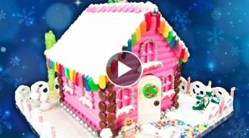Chocolate Gingerbread House from Cookies Cupcakes and Cardio