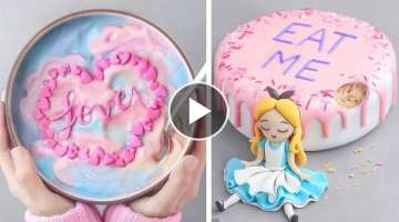 Valentine's Day Cake Treats | How to Make Valentine's Day Cake | DIY Heart Cake