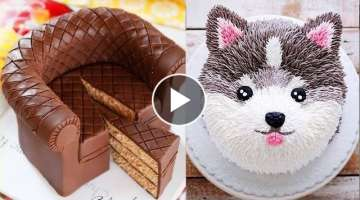 Best Cake Decorating Ideas (AUGUST) - Cake Style 2017 | Most Satisfying Cake Tutorial Compilation
