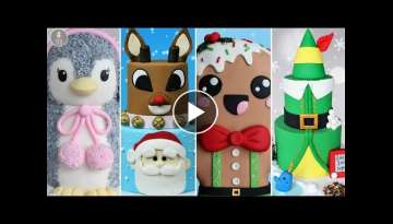 AMAZING HOLIDAY CAKE COMPILATION! | Christmas Cakes
