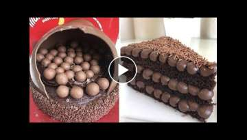 10+ Easy Chocolate Cake Decorating Ideas | So Yummy Cake Compilation | So Tasty Cake Tutorial