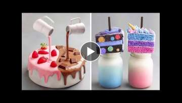 My Favorite Chocolate Cake Videos | Fun and Creative Chocolate Cake Decorating Ideas Like a Pro