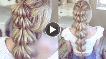 Lantern Braid by SweetHearts Hair