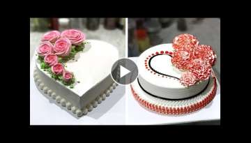 4 Fun & Creative Cake Decorating Tutorial | Most Satisfying Chocolate Cake Ideas Recipes | SO YUM...