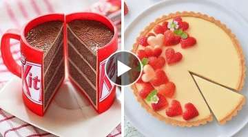 How to Make Chocolate Cake for Birthday | Amazing Cake Decorating Recipe | Tasty Plus Cake