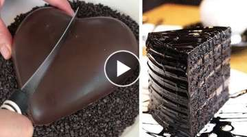 So Yummy Cake Recipes | World's Best Chocolate Cake Decorating Tutorial | Sweet Chocolate Cake