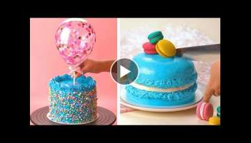 Easy Color Cake Recipes | How To Make Cake Decorating Ideas | So Yummy Cake Compilation