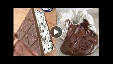 Amazing Chocolate Cake Decorating Tutorial - The Most Satisfying Chocolate Cakes Compilation #3