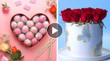 Valentine's Day Special | How to Make Cake Ideas And DIY Valentines Day Treats | So Yummy Cake