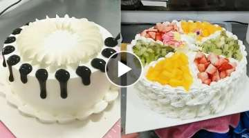 Best Satisfying Cake Decorating Compilation #20 ???? Amazing Chocolate Cake Styles & Ideas