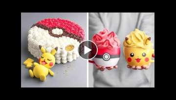 Cute Pikachu Cake ???????????? 10 Fancy Yummy Cake Decoration Ideas for the Perfect Party Tasty C...
