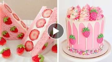 How To Make Cake Is Perfect For Fresh Summer | So Yummy Cake Decorating Ideas Recipe | Tasty Plus