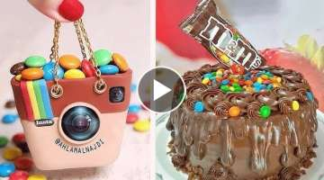 How To Make Orange Chocolate Cake Ideas | So Yummy Cake Decorating Tutorials | Tasty Plus Cake