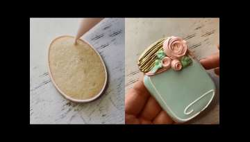 Awesome Cookies Art Decorating Ideas Compilation - most satisfying cake decorating video 2018