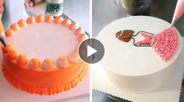 Awesome Cake Decorating Ideas for Party | Most Satisfying Chocolate | Perfect Cake Decorating