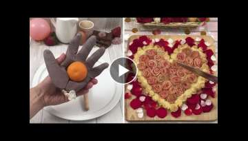 Love's in the kitchen ???? Hands of love ???? Valentine's pie ???? Chefclub's recipes for a roman...