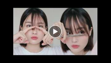 (eng/jpn/vnm/rus) Cutting My Own Bangs 앞머리 자르기