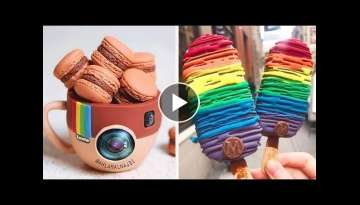 How To Make Cake Decorating Ideas | Best Satisfying Chocolate Cake Recipe | Tasty Plus Cake