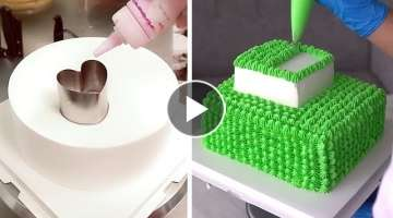 Fun & Easy Cake Decorating Ideas for Event | Most Satisfying Chocolate Cake Recipe | CAKE STYLE